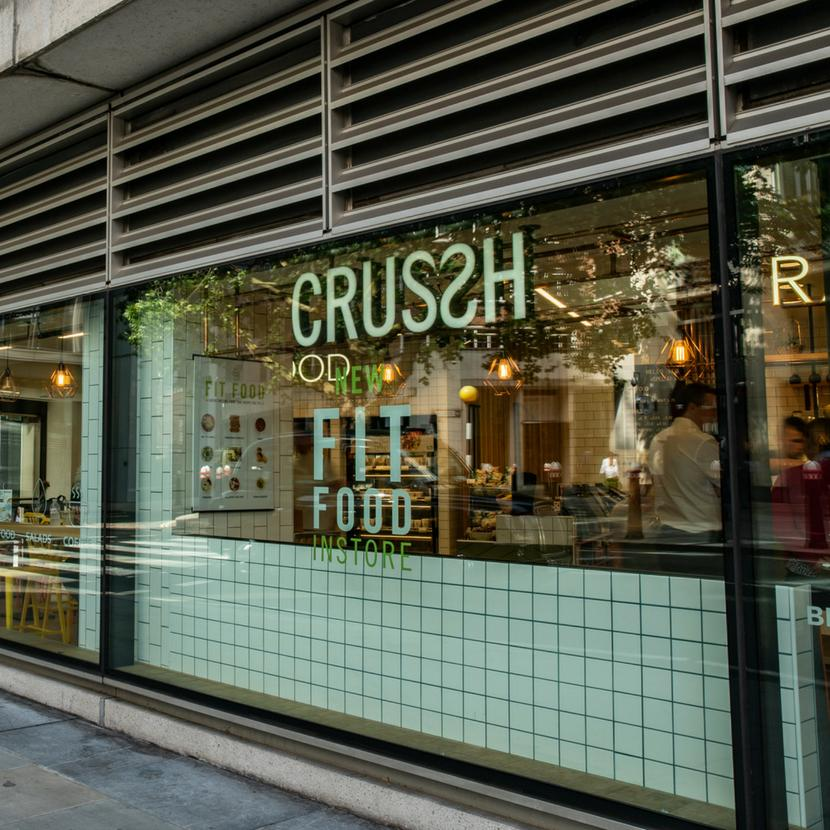 Crussh at New Street Square London