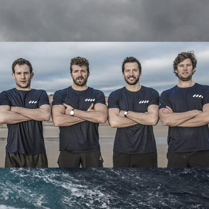 3000 miles. One ocean. Four Oarsmen.