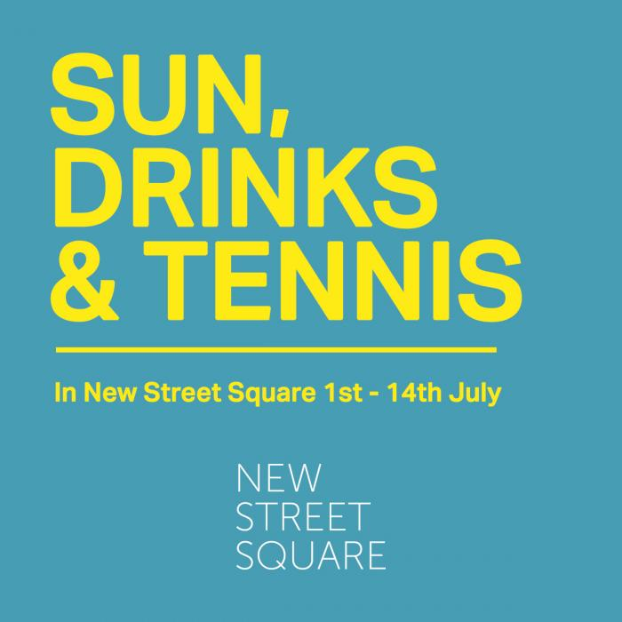 New Street Square | Wimbledon | Live Screenings